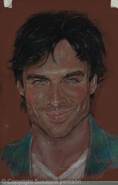 actor sommerhalder.Damon vampire