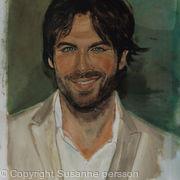 stunning smile.Ian  Vampire Damon