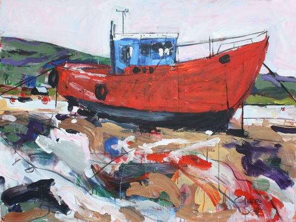 Boat at Barmouth SOLD