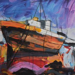Yellow Boat.   sold