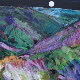 Full Moon Over Mytton Dingle