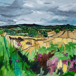 View Across Westley - sold