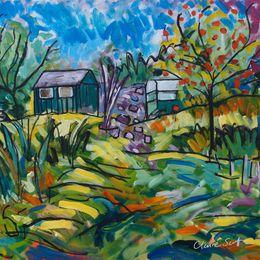 Garden at Corndon Cottage - sold