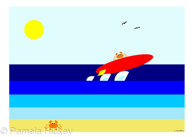Surfing Crab