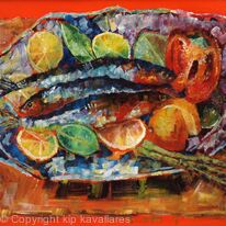 SARDINES - American Arts Awards Expressive Still Life Category