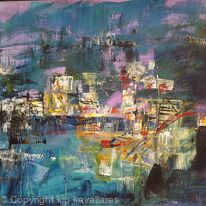 ABSTRACT STUDY OF PORT ISAAC