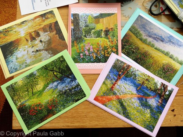 Blank cards pack of 5