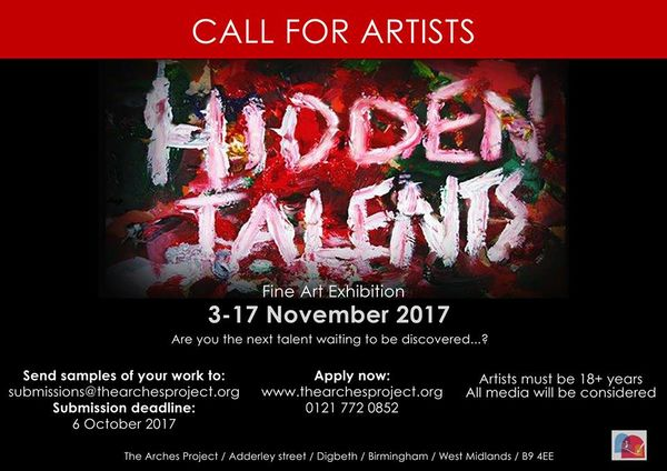Hidden Talents at Arches Project Gallery