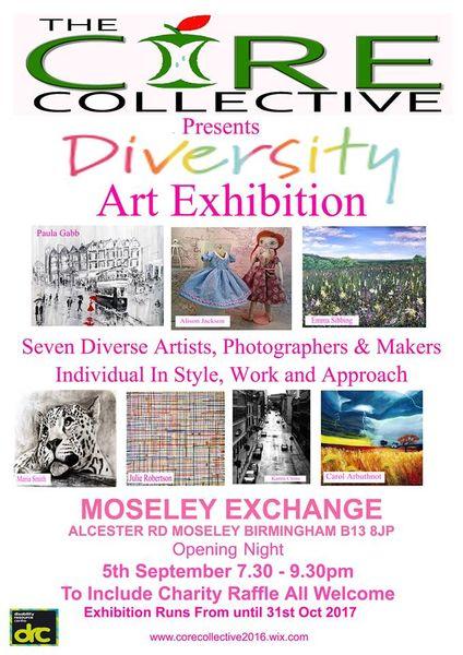 Diversity Art Exhibition Sept - Oct 2017