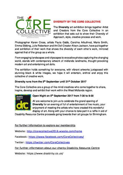 Descriptiion of our Diversity Art Exhibition