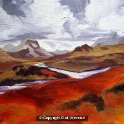 Cullin Range, Skye, Autumn