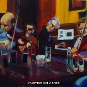 Blazin Fiddles on A Thursday Night in Glenfinnan