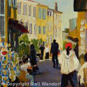 Street Scene, Biot