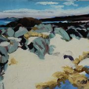 Rocks and White Sands, North Beach Iona