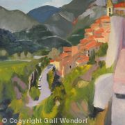 Old St. Agnes, Provence Alps Cote d'Azur