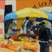 Market Day, Valbonne