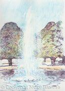 Hampton Court Fountain