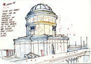 Ladybirds invade the cupola