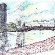 Lambeth Bridge & Big Ben