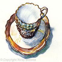 wavy cup