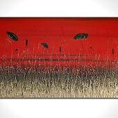 Scarlet Landscape