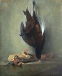 Still Life with Bird - Copy of original by Chardin