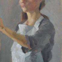 Painting a Self Portrait