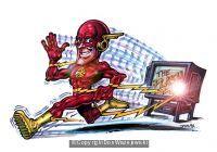 Flash on TV