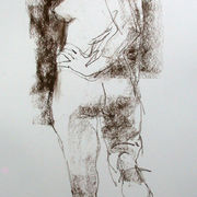 Standing female nude 4