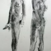 Standing female nude 5