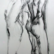 Standing female nude 6