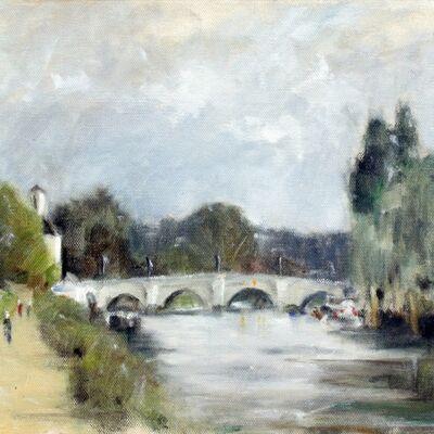 Richmond Bridge from the West