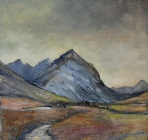 Glamaig, Red Cuillin, Skye