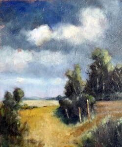 Fields near Canons Ashby