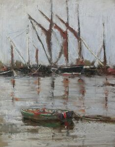 Thames Barges at Pin Mill