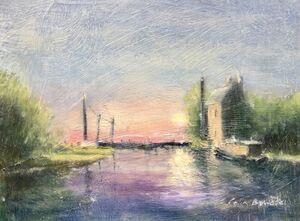 Dawn, Stoke Bruerne Bottom Lock GUC