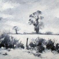 Deep Snow in Northamptonshire