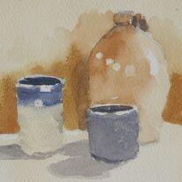 Still life - Pots