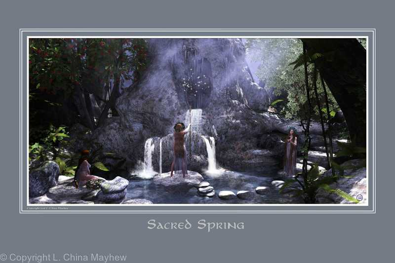 THE SACRED SPRING