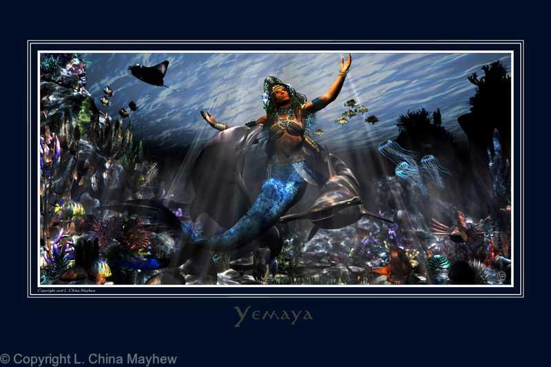 YEMAYA, OWNER OF THE SEAS