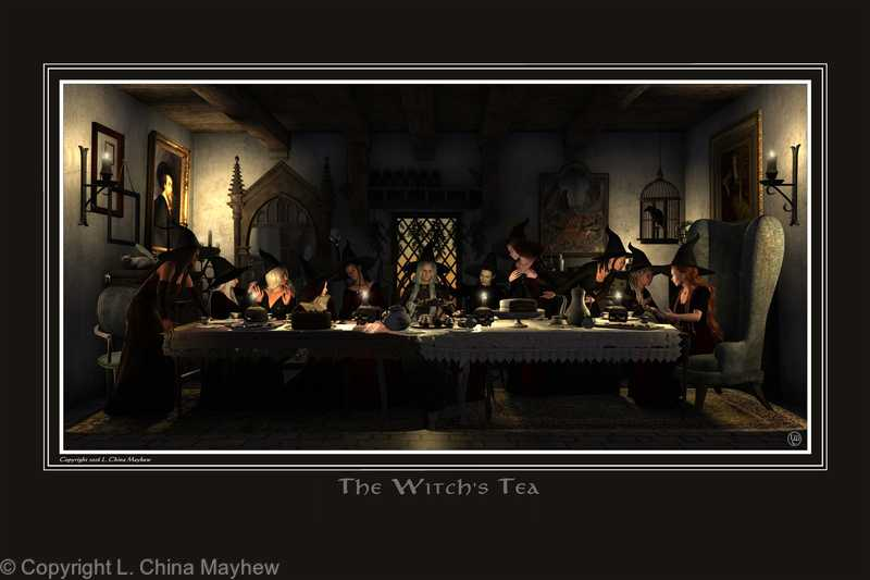 THE WITCH'S TEA