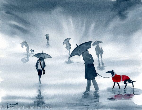 RAIN No.5829 Umbrella Rain Dog