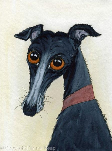 Supper? No.6782 Original Dog Portrait