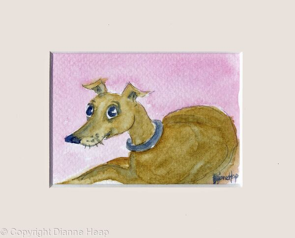 Cheeky ACEO 7183 Dog