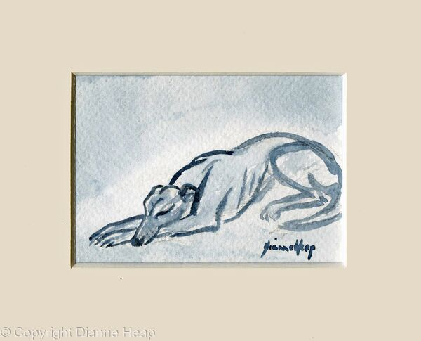Sleepy Head ACEO 7184 Dog