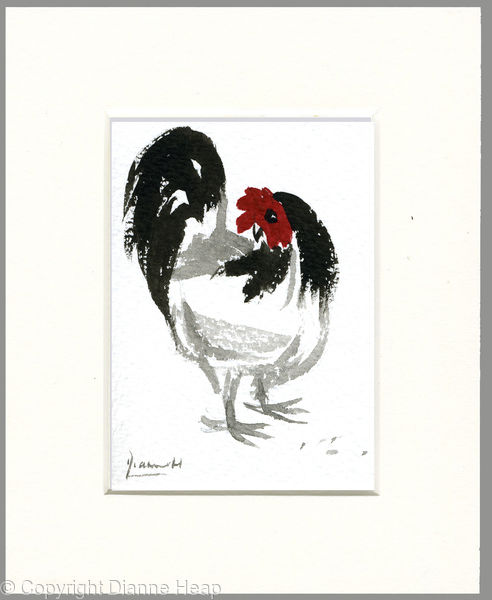 Where is Lunch? 5173 ACEO Hen