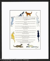 Rainbow Bridge Poem No.7044 Cat