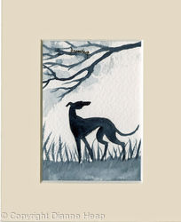 Freedom ACEO 7155 Greyhound / Whippet / Dog
