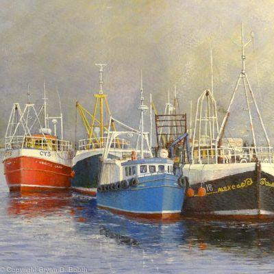 Highland Fishing Boats