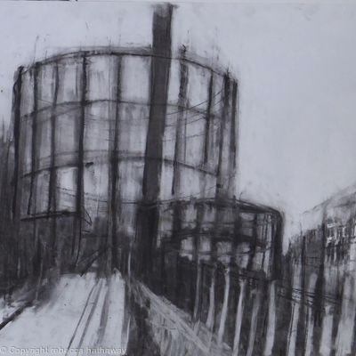 gas holders Cambridge Heath